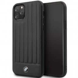 BMW Real Leather Hard Case Black iPhone 11 Pro Tok