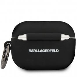 Karl Lagerfeld AirPods Pro Silicone Case Black