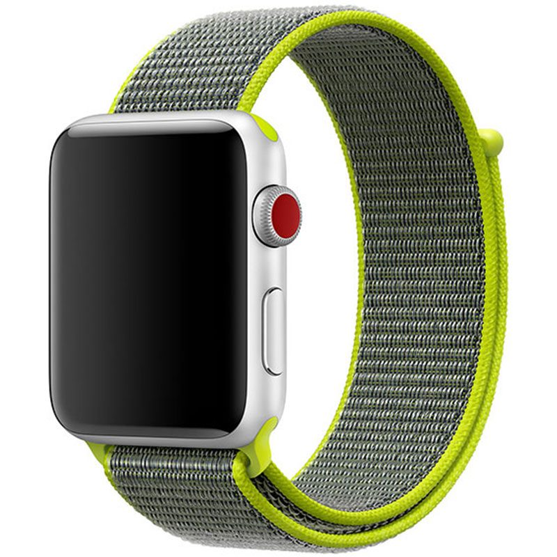 Nylon Szíj Apple Watch 42/44mm Flash Yellow