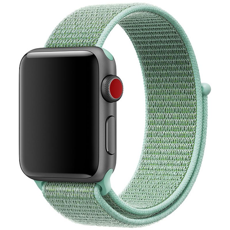 Nylon Szíj Apple Watch 42/44mm Marine Green