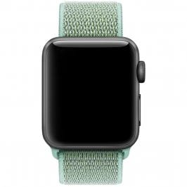 Nylon Szíj Apple Watch 38/40mm Marine Green