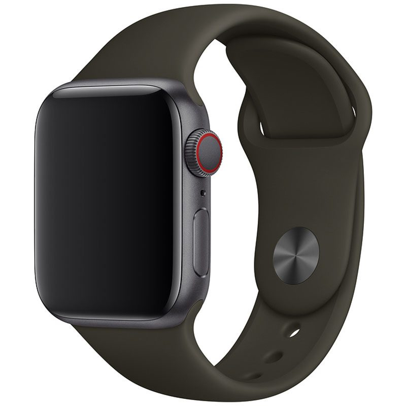 Silicone Szíj Apple Watch 42/44mm Cocoa Small