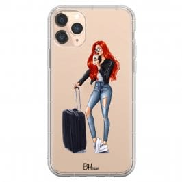Woman Redhead With Baggage iPhone 11 Pro Max Tok