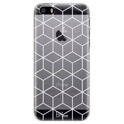 Cubic Grid iPhone SE/5S Tok