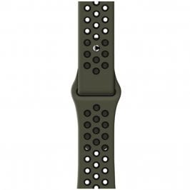 Sport Szíj Apple Watch 42/44mm Army Green/Black Large