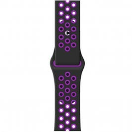 Sport Szíj Apple Watch 38/40mm Black/Purple Small