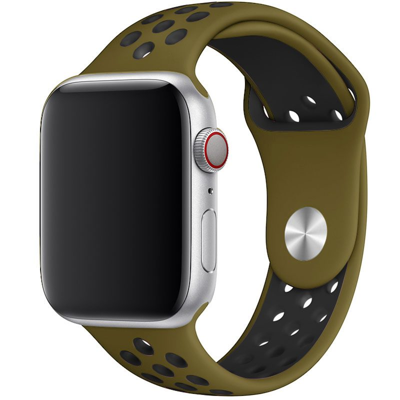 Sport Szíj Apple Watch 42/44mm Olive Flak Large