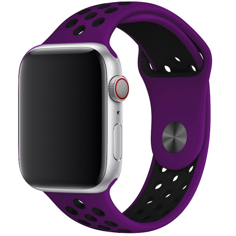Sport Szíj Apple Watch 42/44mm Purple/Black Large