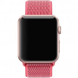 Nylon Szíj Apple Watch 38/40mm Hibiscus