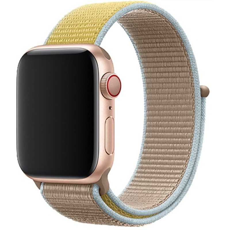 Nylon Szíj Apple Watch 42/44mm Camel