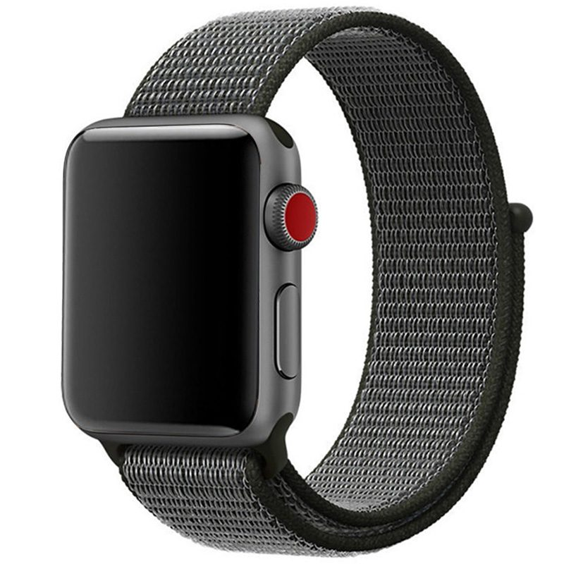 Nylon Szíj Apple Watch 42/44mm Dark Olive
