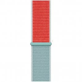 Nylon Szíj Apple Watch 38/40mm Light Blue Red