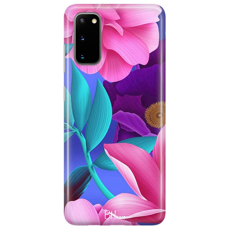 Pinky Floral Samsung S20 Tok