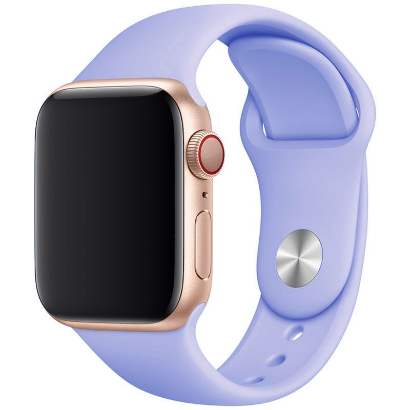 Silicone Szíj Apple Watch 42/44mm Lilac Large