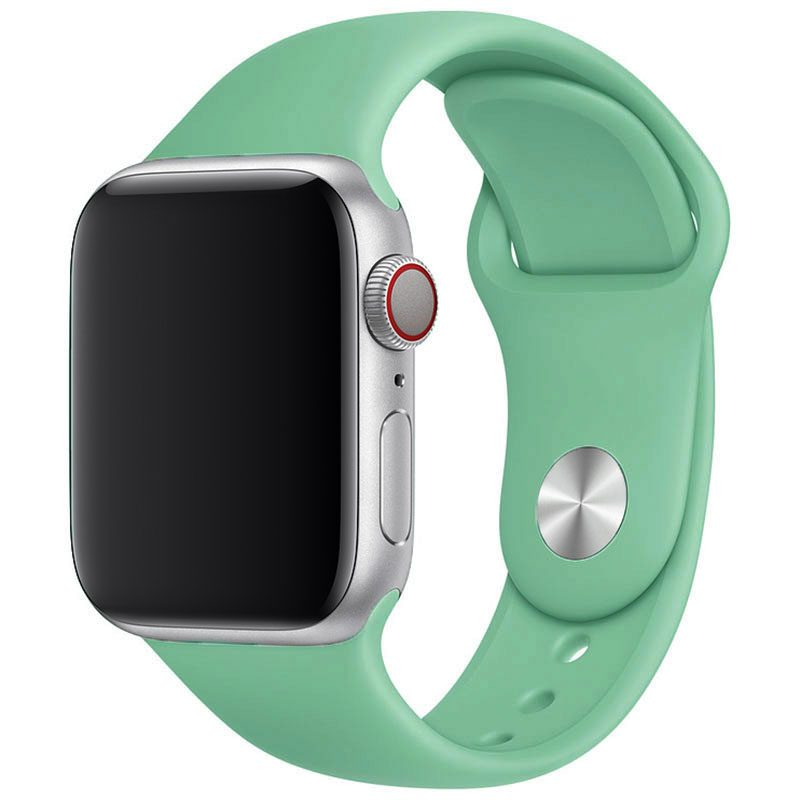 Silicone Szíj Apple Watch 42/44mm Spearmint Large