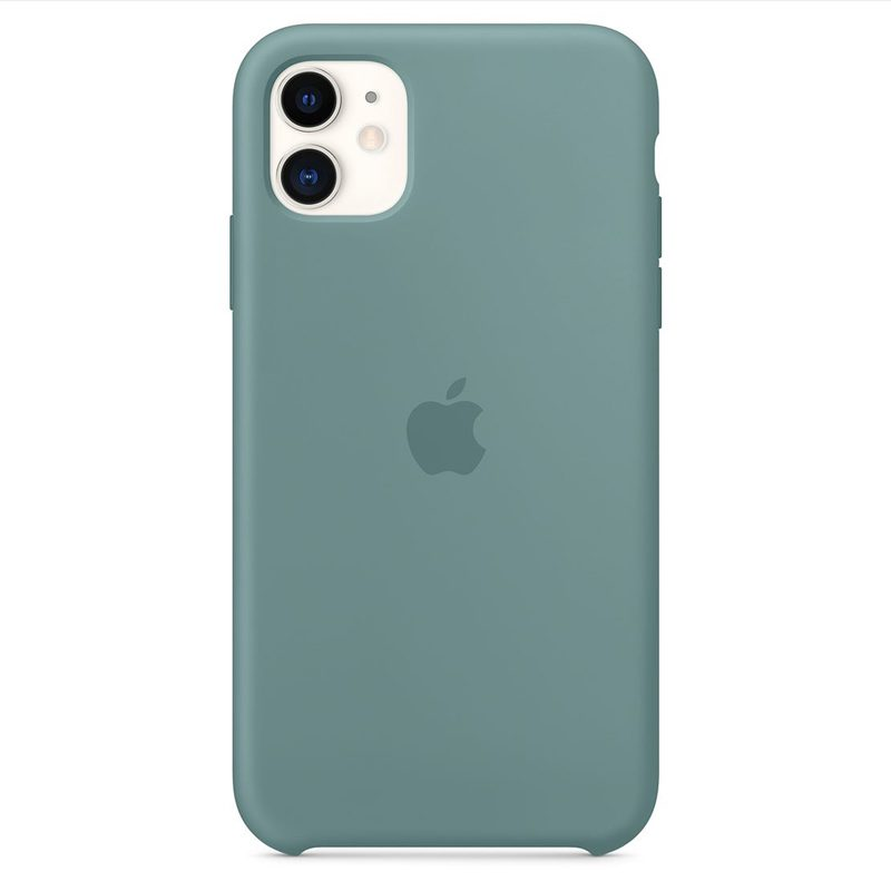 Apple Cactus Silicone iPhone 11 Tok