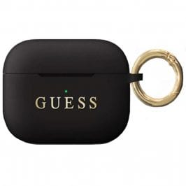 Guess AirPods Pro Silicone Case Black