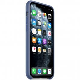 Apple Linen Blue Silicone iPhone 11 Pro Tok