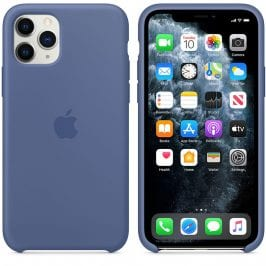 Apple Linen Blue Silicone iPhone 11 Pro Max Tok