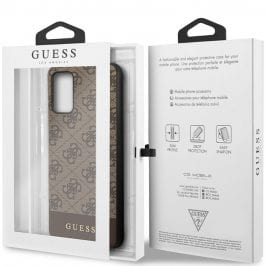 Guess 4G Stripe Brown Samsung S20 Plus Tok