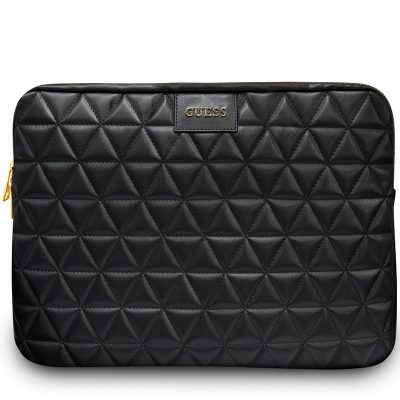 """Guess Quilted Tok Notebook 13"""" Black"""
