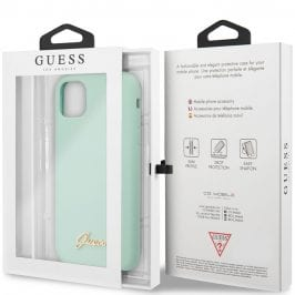 Guess Silicone Vintage Green iPhone 11 Tok