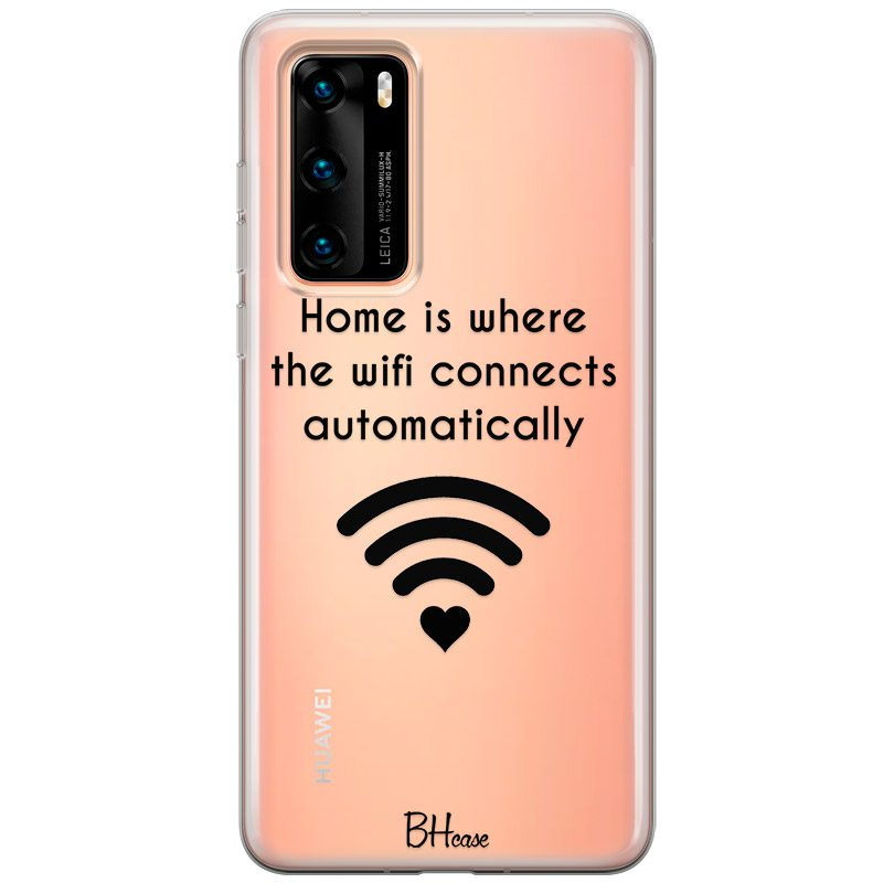 Home Is Where The Wifi Connects Automatically Huawei P40 tok