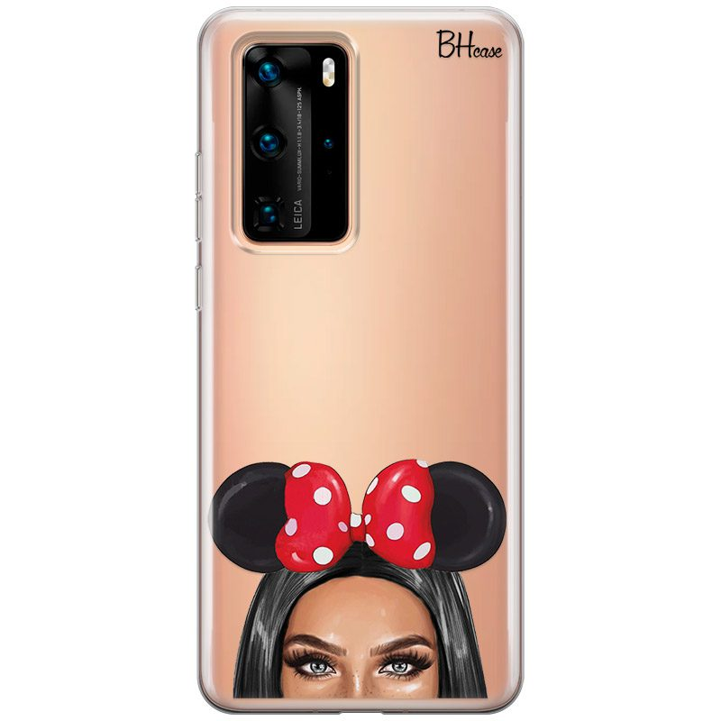 Black Haired Girl With Ribbon Huawei P40 Pro tok