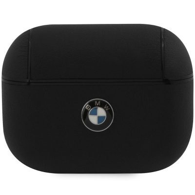BMW AirPods Pro Signature Leather Case Black