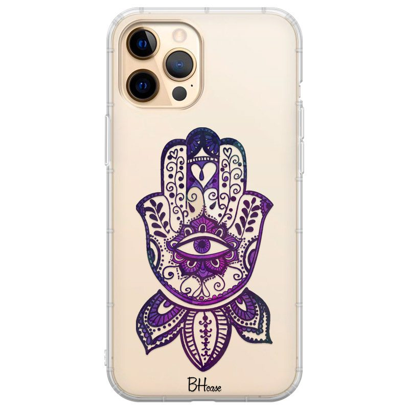 Bohemian Purple Hand iPhone 12 Pro Max Tok