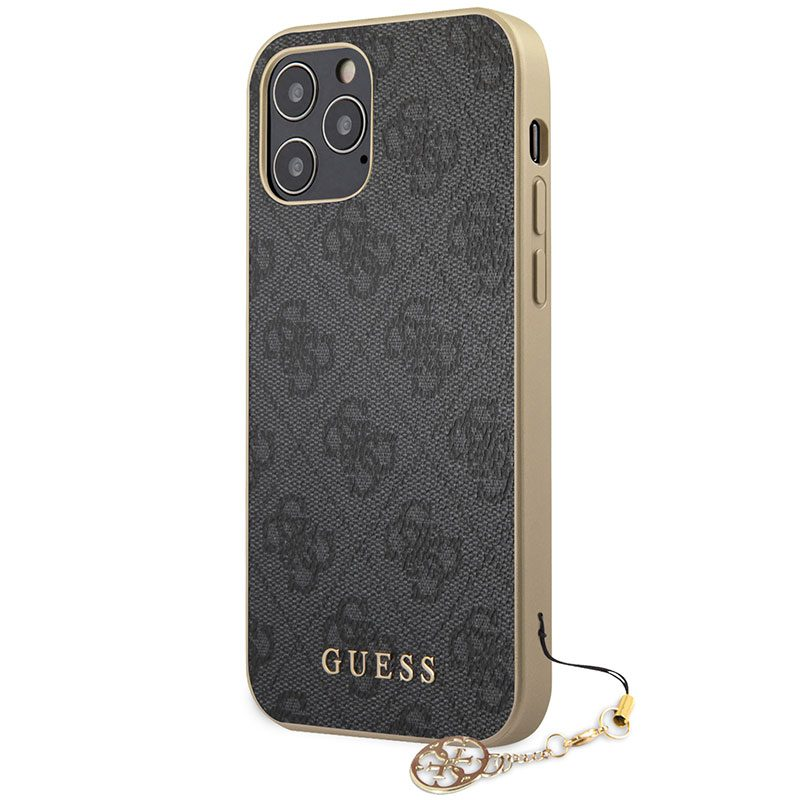 Guess 4G Charms Grey iPhone 12/12 Pro Tok
