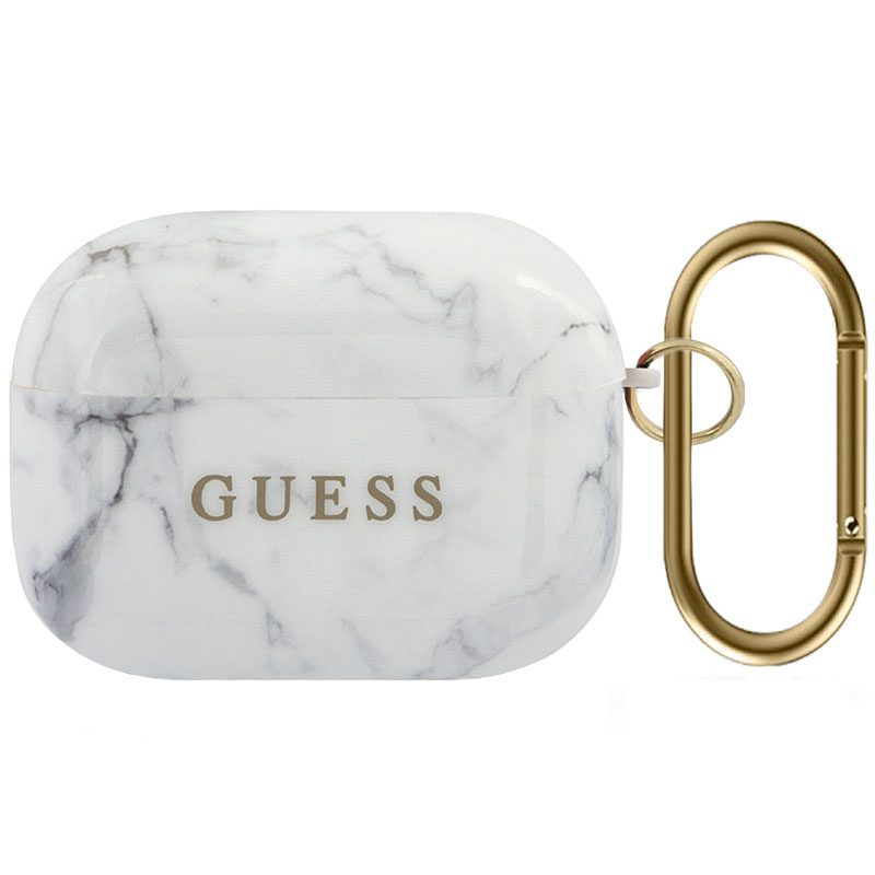 Guess AirPods Pro TPU Case Marble White