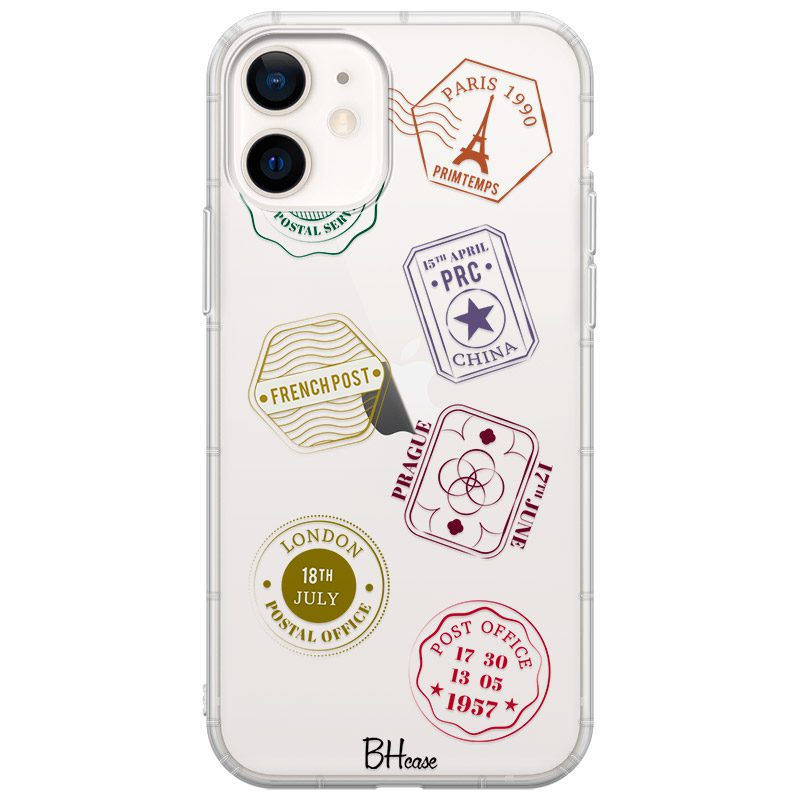 Travel Stamps iPhone 12 Mini Tok