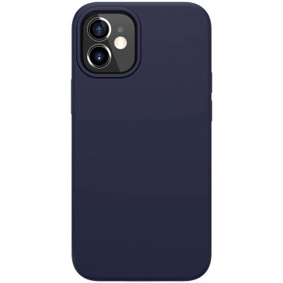 Nillkin Flex Pure Liquid Silicone Blue iPhone 12 Mini Tok
