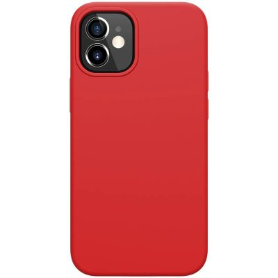 Nillkin Flex Pure Liquid Silicone Red iPhone 12 Mini Tok