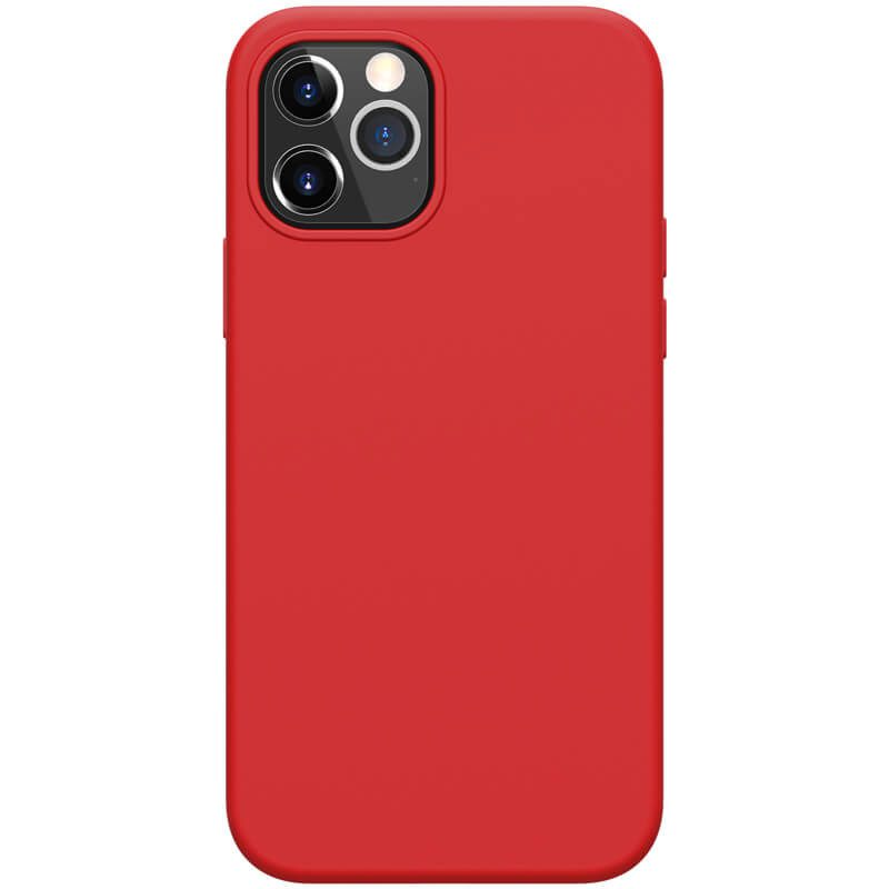 Nillkin Flex Pure Liquid Silicone Red iPhone 12/12 Pro Tok