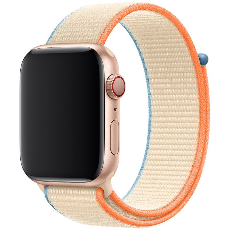 Nylon Szíj Apple Watch 42/44mm Cream