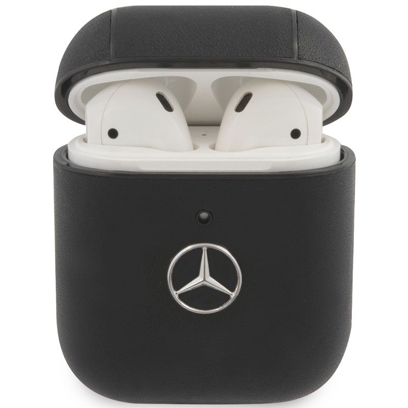 Mercedes AirPods Case Black