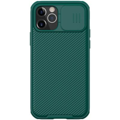 Nillkin CamShield Deep Green iPhone 12/12 Pro Tok