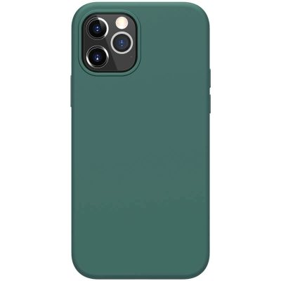 Nillkin Flex Pure Liquid Silicone Green iPhone 12/12 Pro Tok