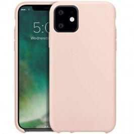 Xqisit Silicone Nude iPhone 11 Tok