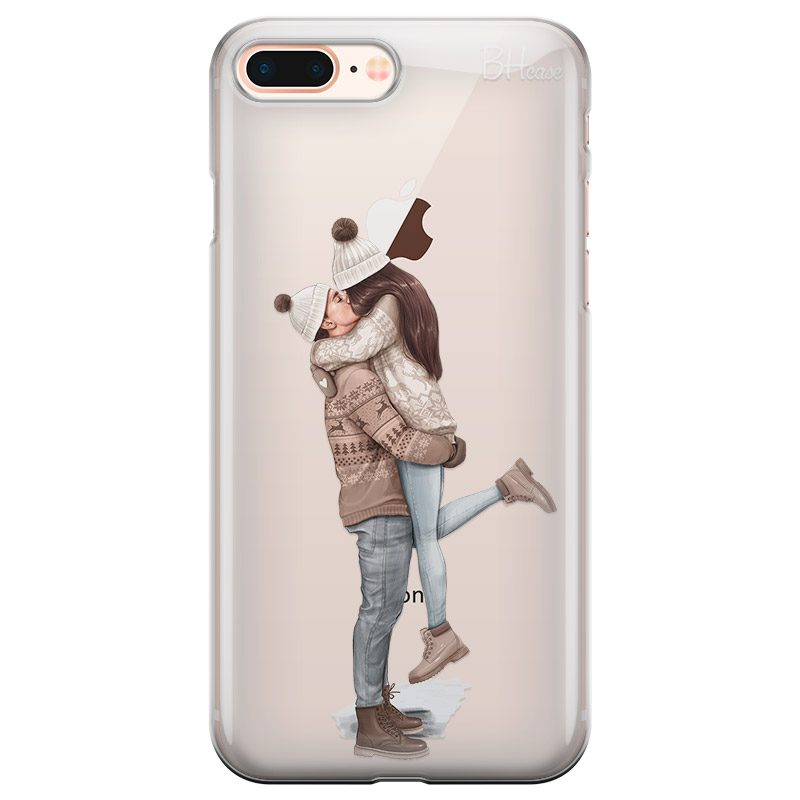 All I Want For Christmas Brown Hair iPhone 7 Plus/8 Plus Tok