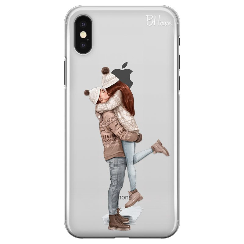 All I Want For Christmas Redhead iPhone X/XS Tok