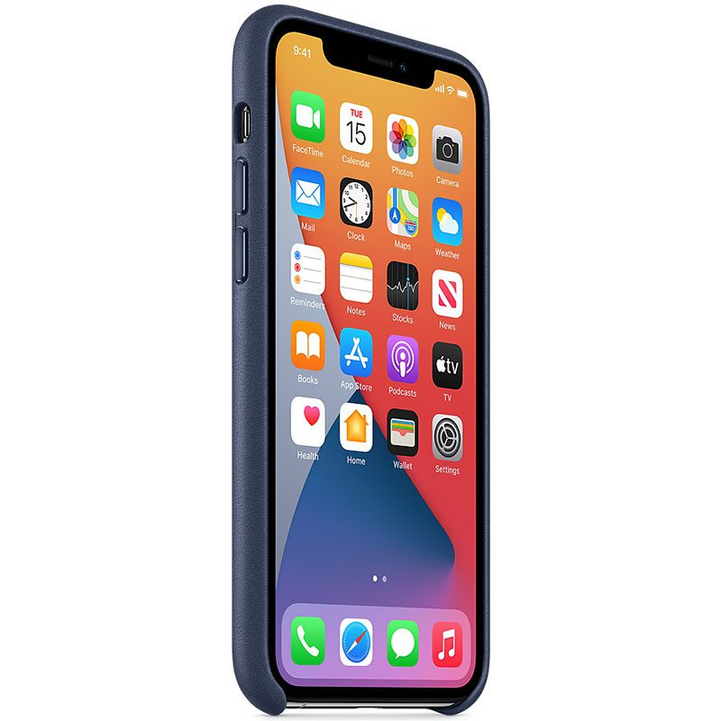 Apple Midnight Blue Leather iPhone 11 Pro Tok