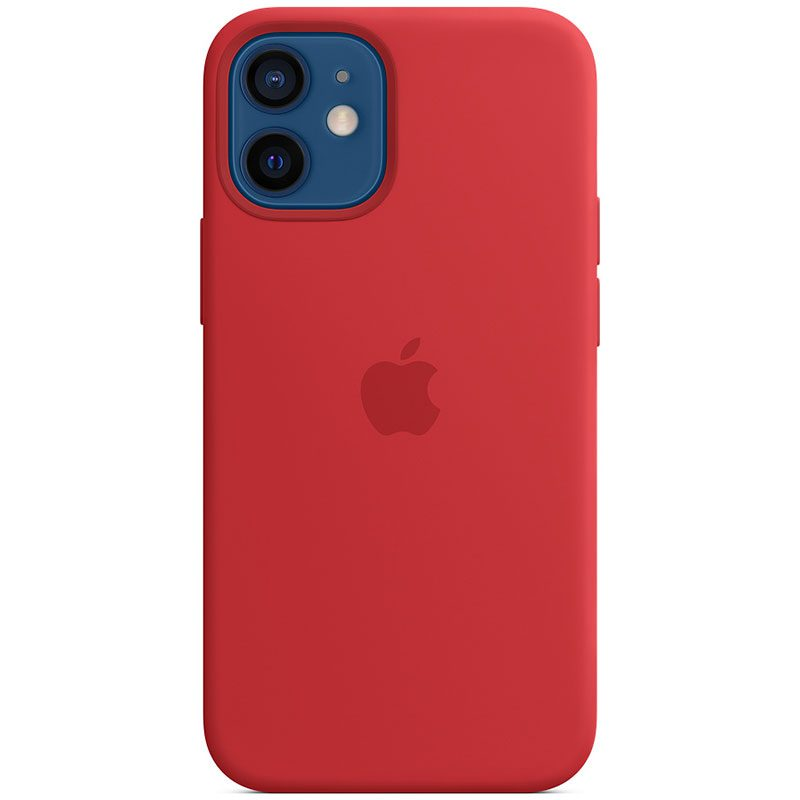 Apple Red Silicone MagSafe iPhone 12 Mini Tok