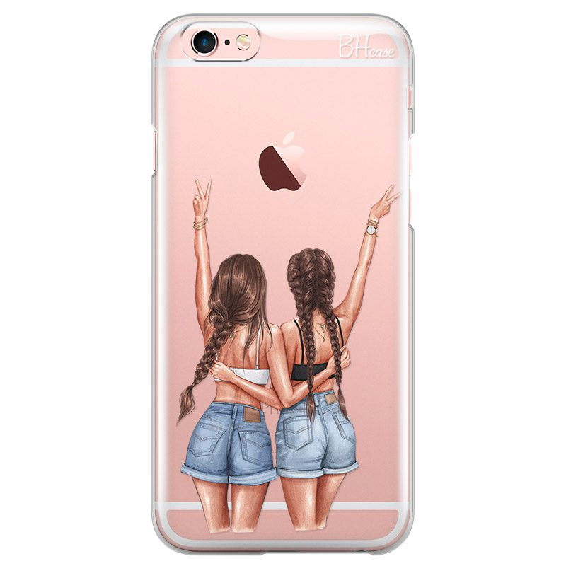 Better Together Brown Hair iPhone 6 Plus/6S Plus Tok