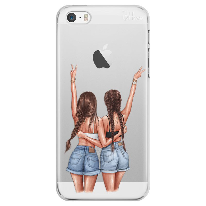 Better Together Brown Hair iPhone SE/5S Tok