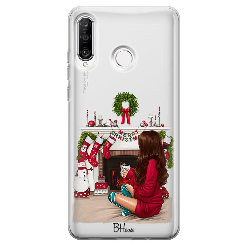 Christmas Day Brown Hair Huawei P30 Lite Tok