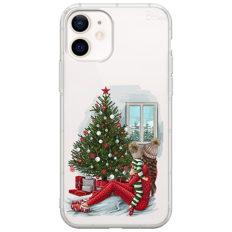 Christmas Mom Brown Hair iPhone 12/12 Pro Tok