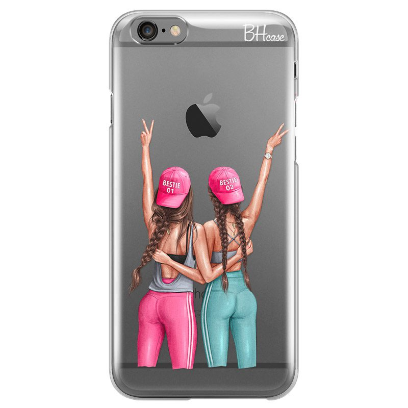 Girls Can Brown Hair iPhone 6/6S Tok